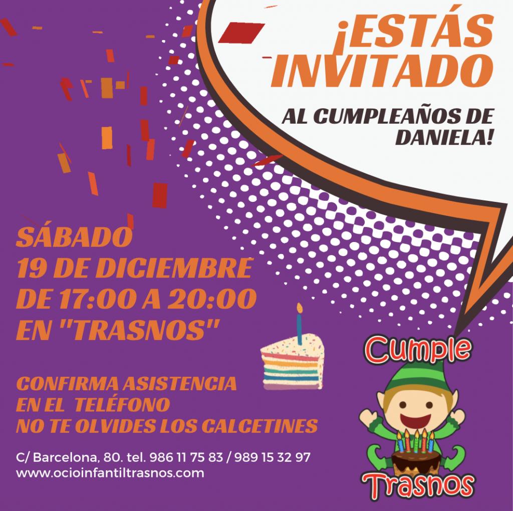 cumpleaños invitaciones